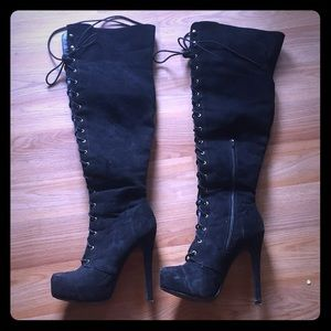 3824d391e842 JustFab Shoes - Just Fab Boot  Dashiella (Gently Used)